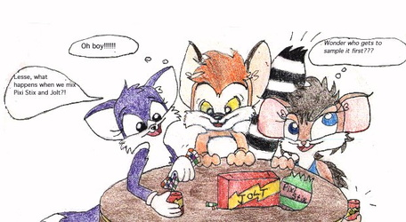 [Old Art] The Hyperactive 3, by Vinci
