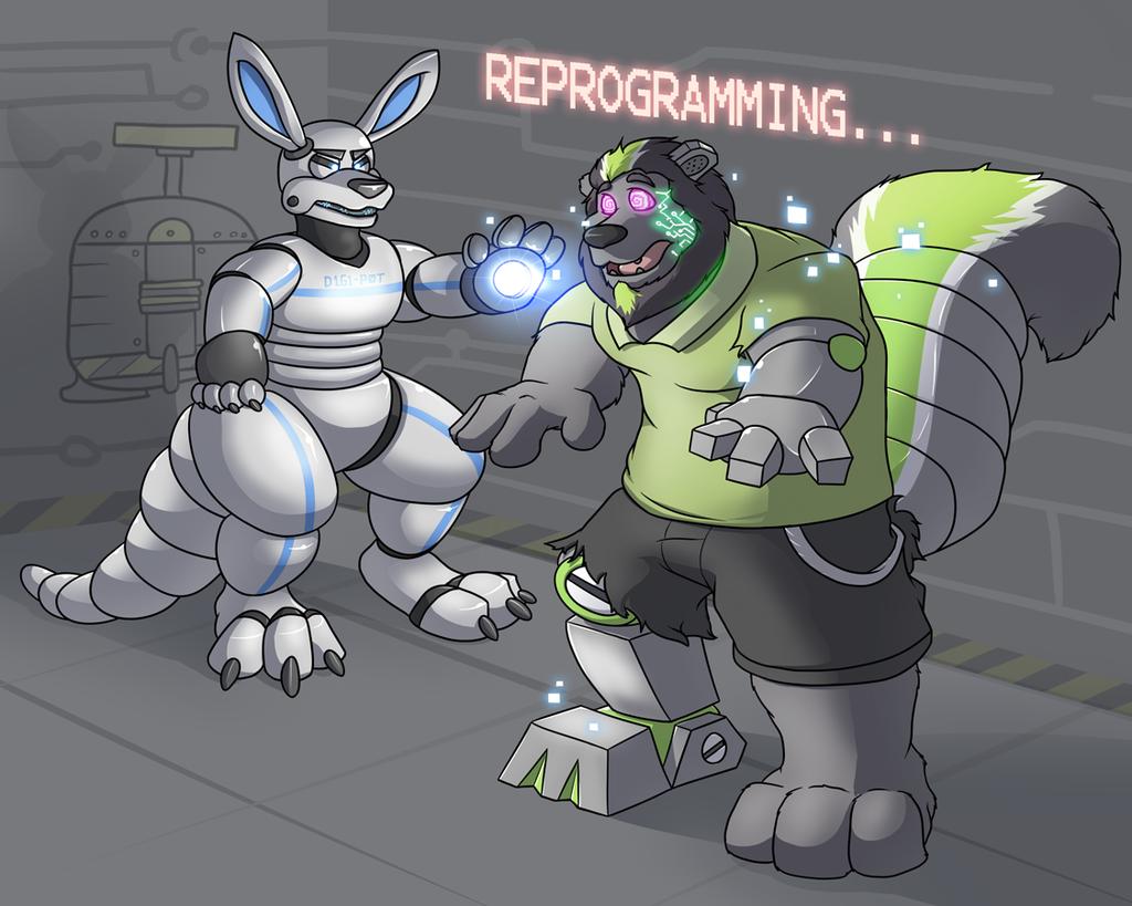 Egads! Robot Stinkbrain is unleashed!