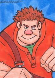 Wreck-It-Ralph Art Card
