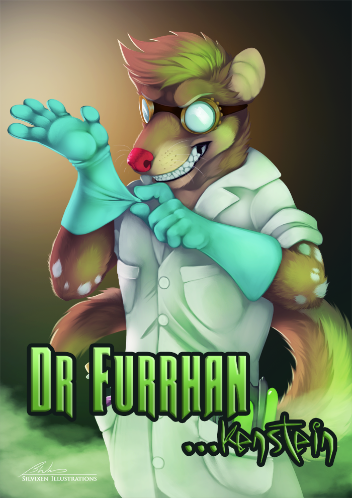 Most recent image: Dr. Furrhankenstein Badge
