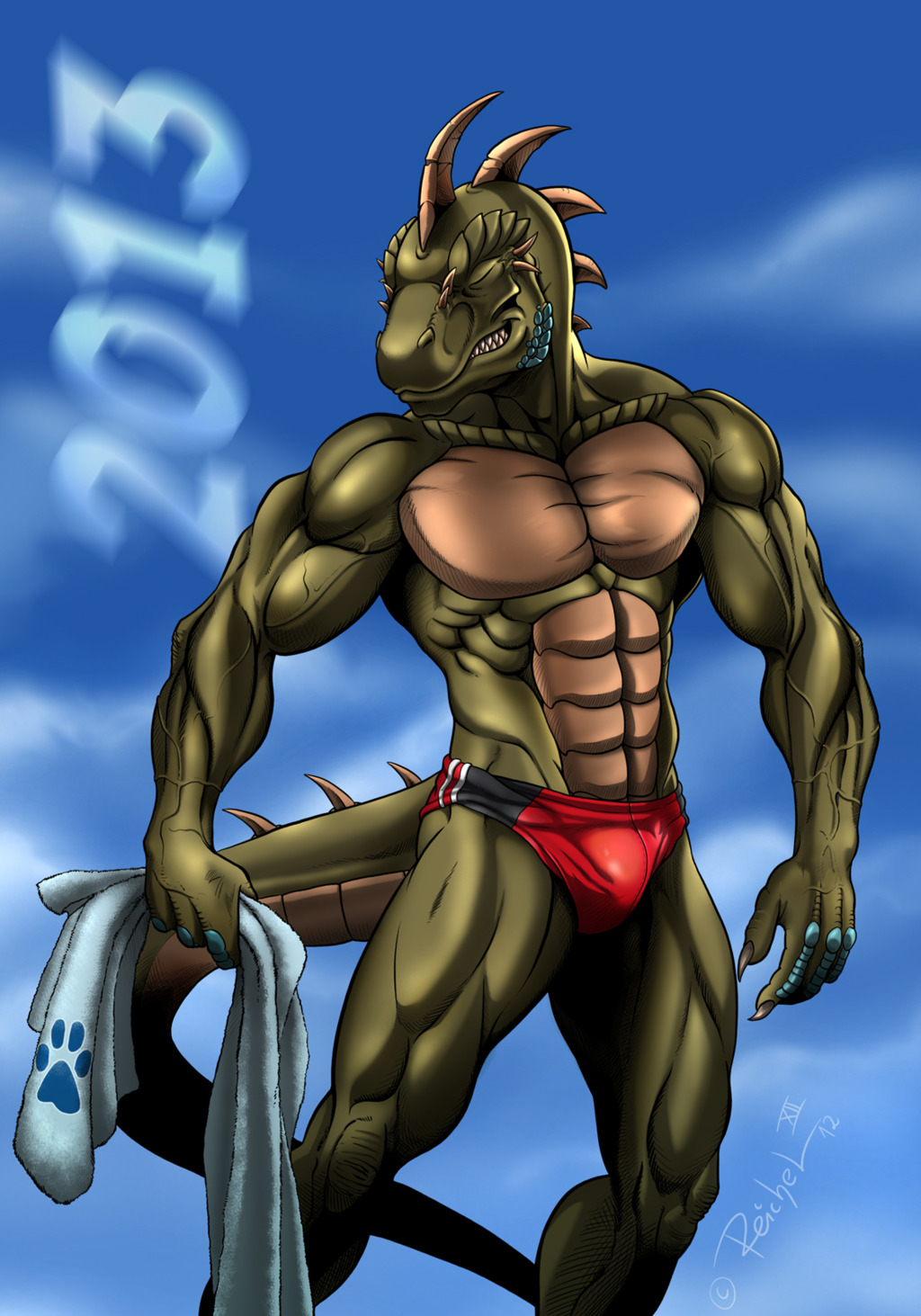 Reptilian Athlete