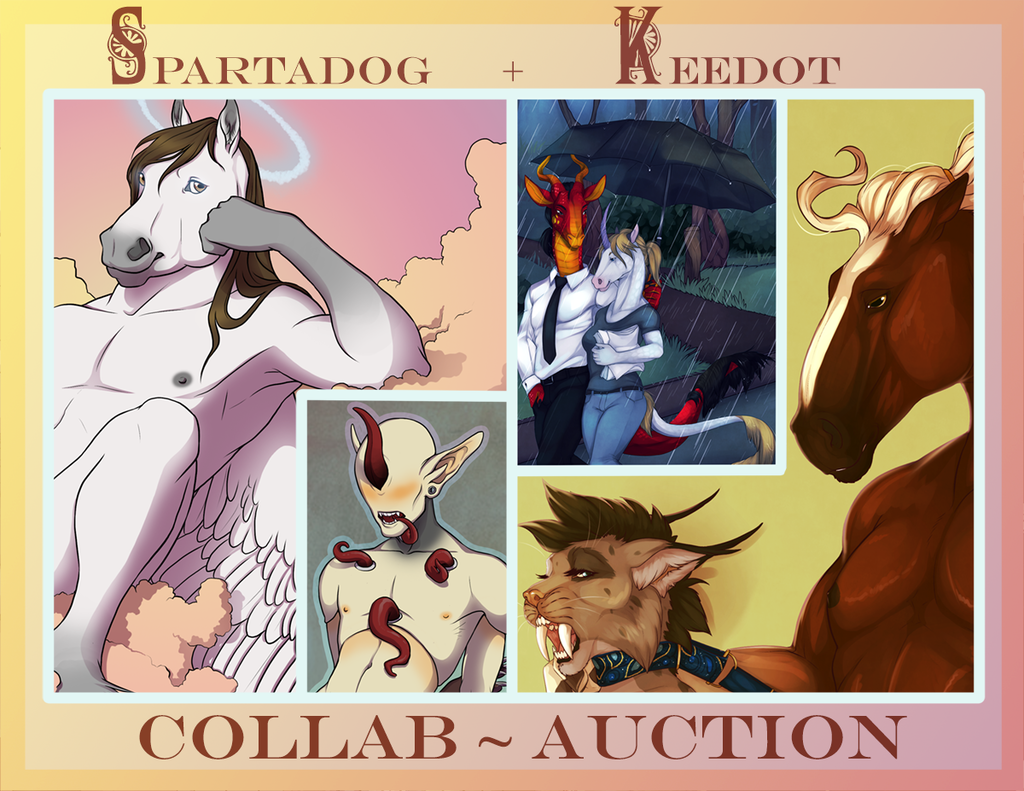 SPARTADOG + KEEDOT // COLLAB AUCTION // ENDED