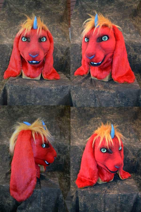 Zelas the Demon Bunny Head