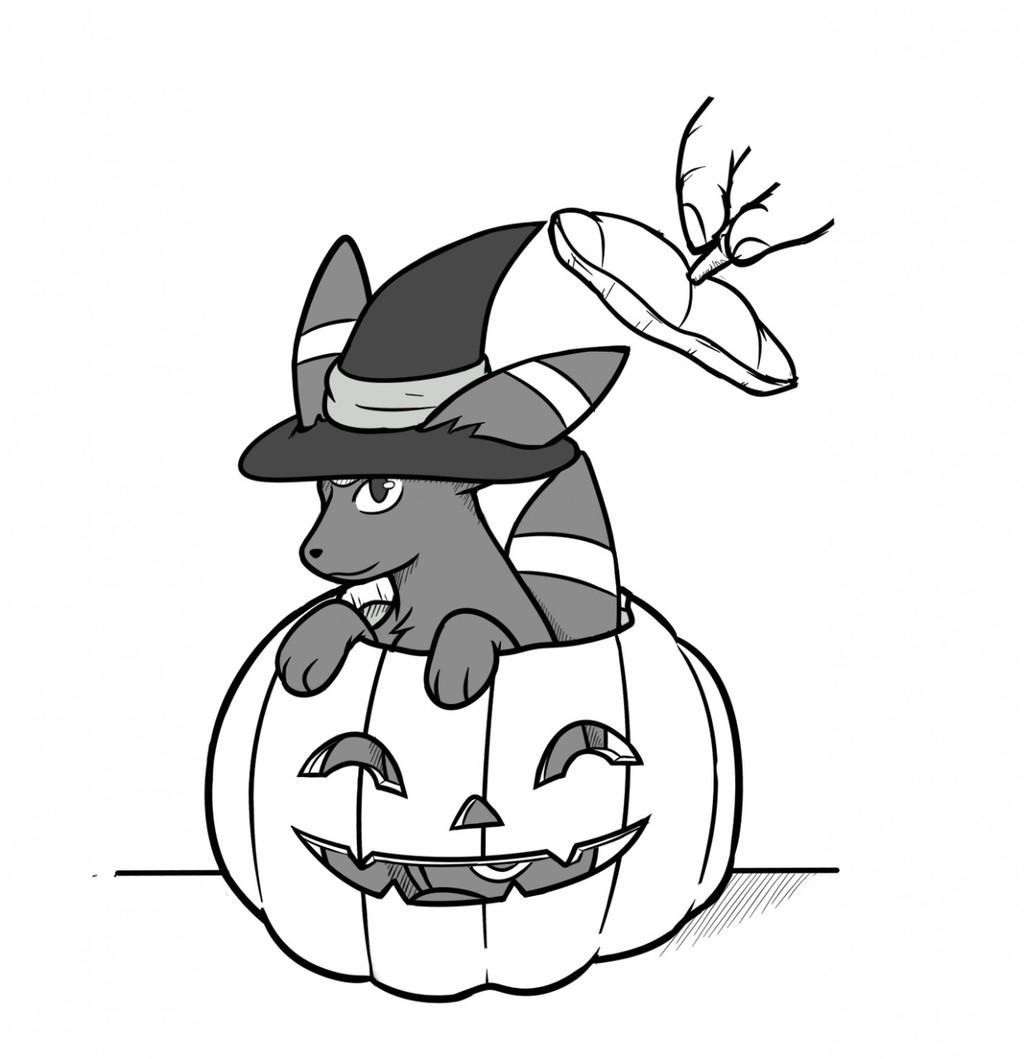 [Patreon Raffle] - Happy Halloween from Umbreon!