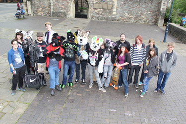 Bristol Furmeet June 2015 Group Photo