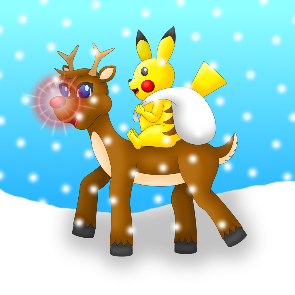 Rudolf and Pikachu (Pokemon)