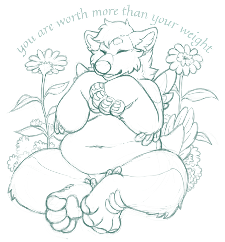 you are worth more than your weight