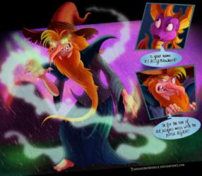 """Spyro - """"Blowhard"""" the Magic Manipulator"""