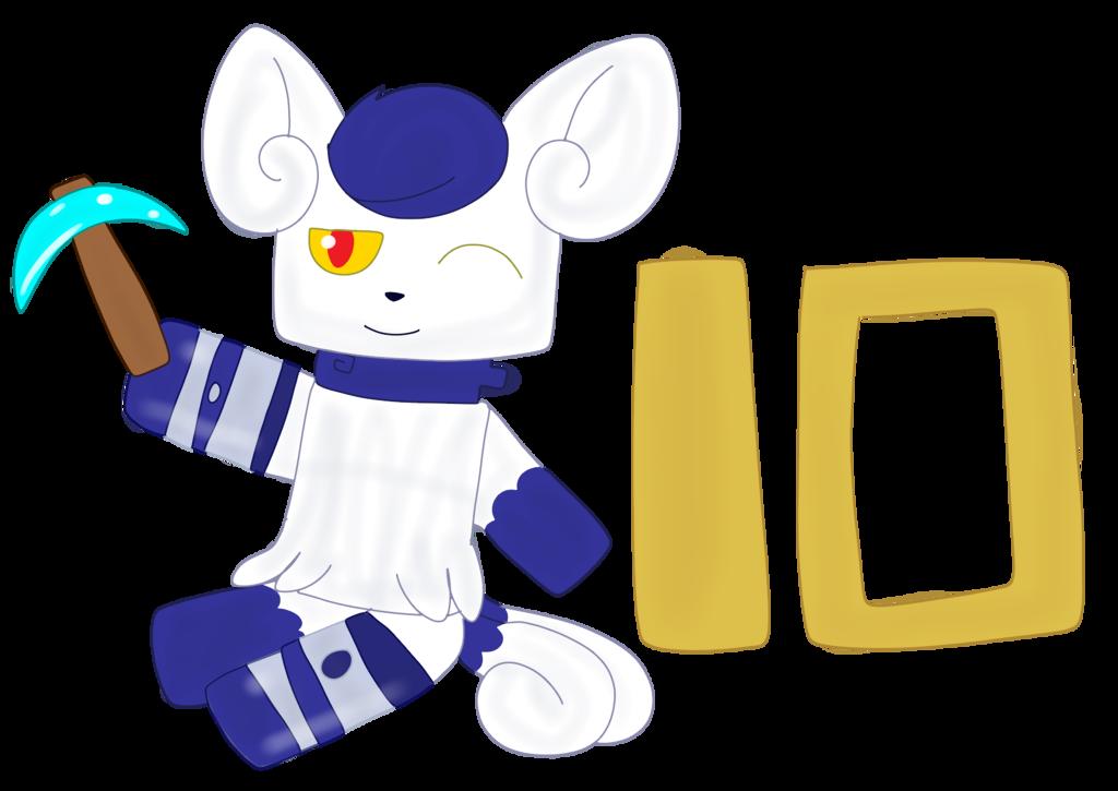 Minecraft 10th Anniversary Leni