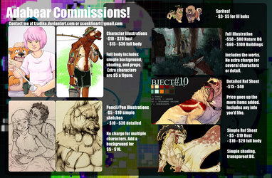 Commission Information!