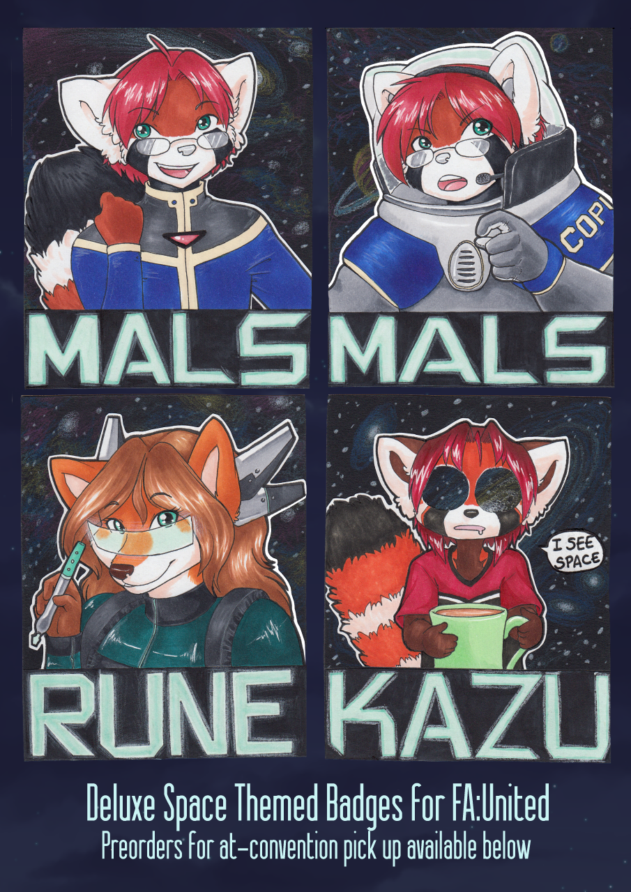 Deluxe Space Badges [Preorders Available]