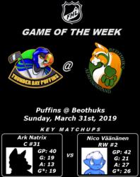 FHL Season 7 Game of the Week #16: Puffins @ Beothuks