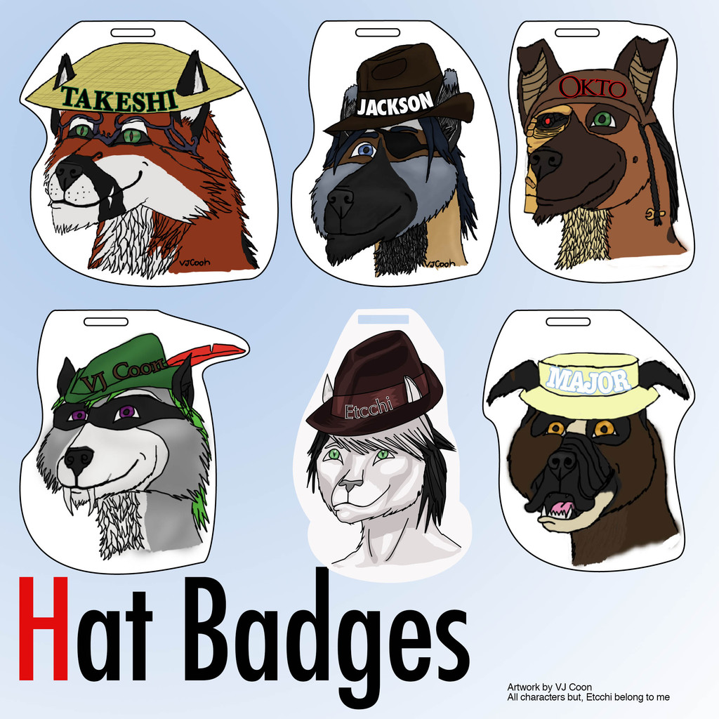 Hat Badge examples