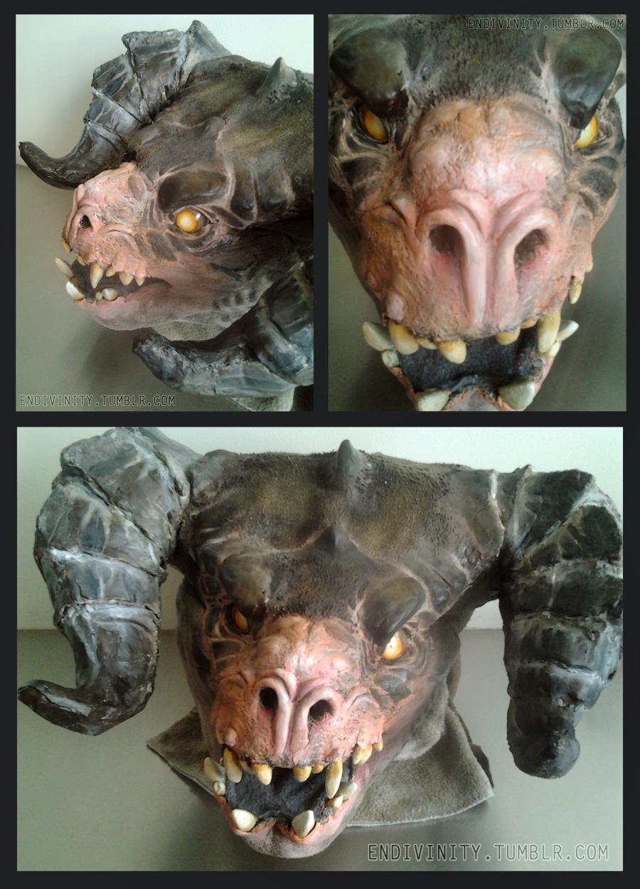Deathclaw MkII head
