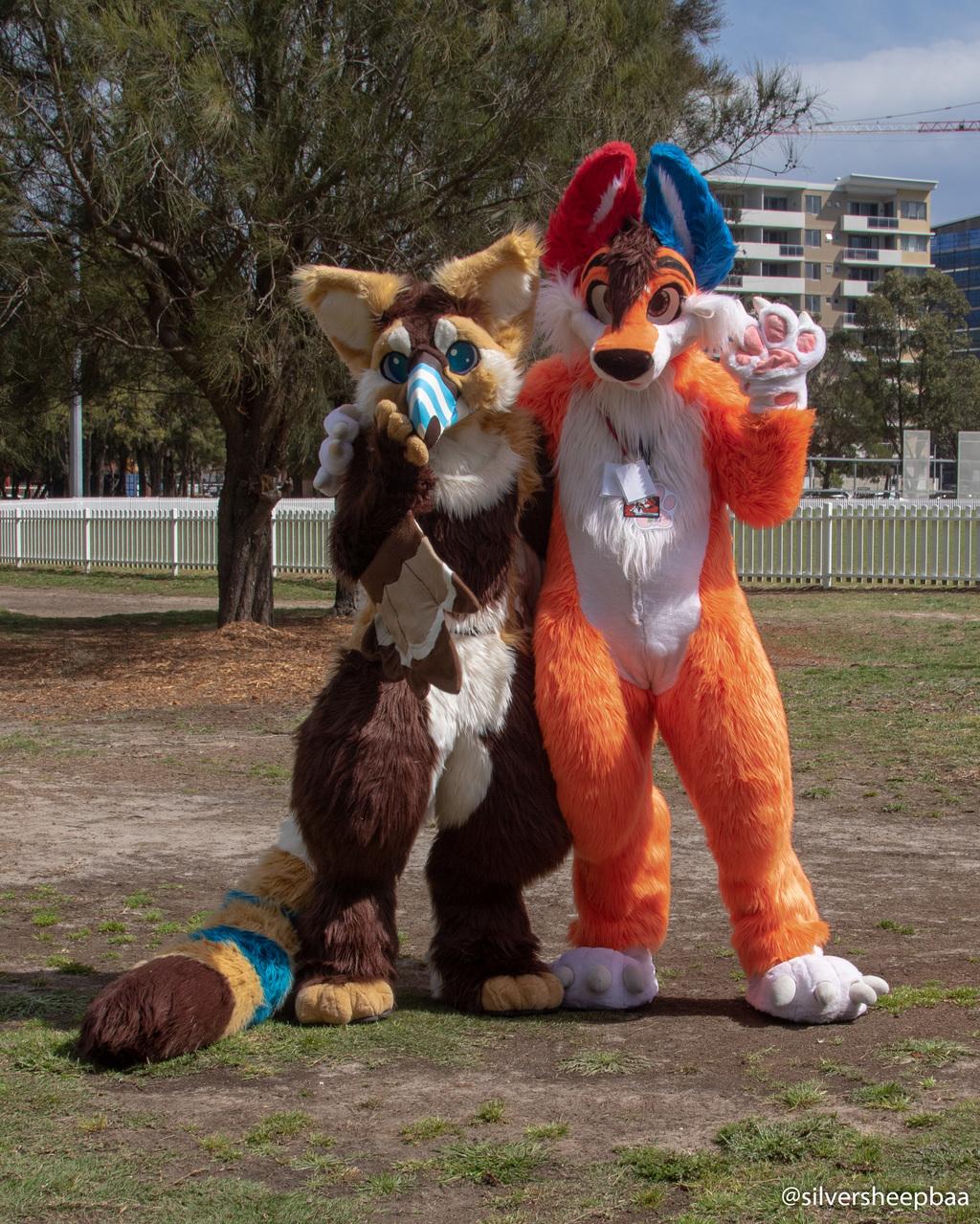 FurJAM 2018: Maliblue and Ozzi Foxy 2