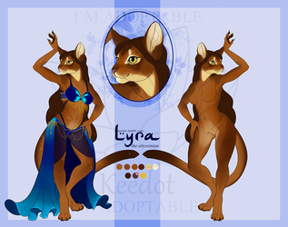 [ADOPTABLE/SOLD] Lyra the Abyssinian