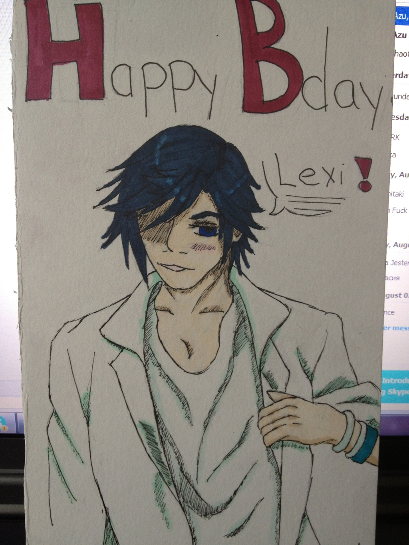 Birthday Card: Tokiya