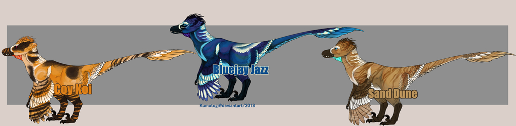 Crested Raptor Adopt Designs [OPEN] PAYPAL