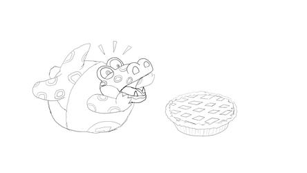 Alfonso wants dat pie!