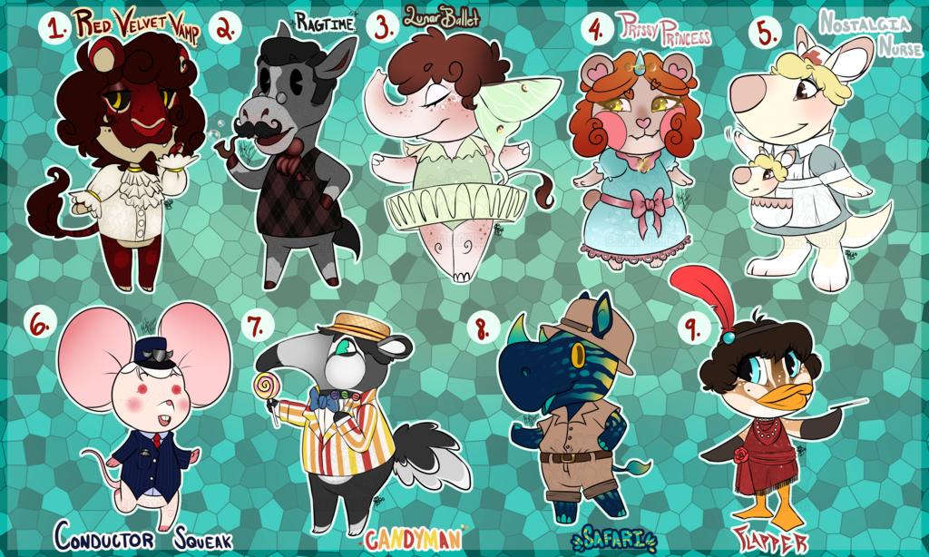Animal Crossing Adopts 1 Flatsale (OPEN) 3/9