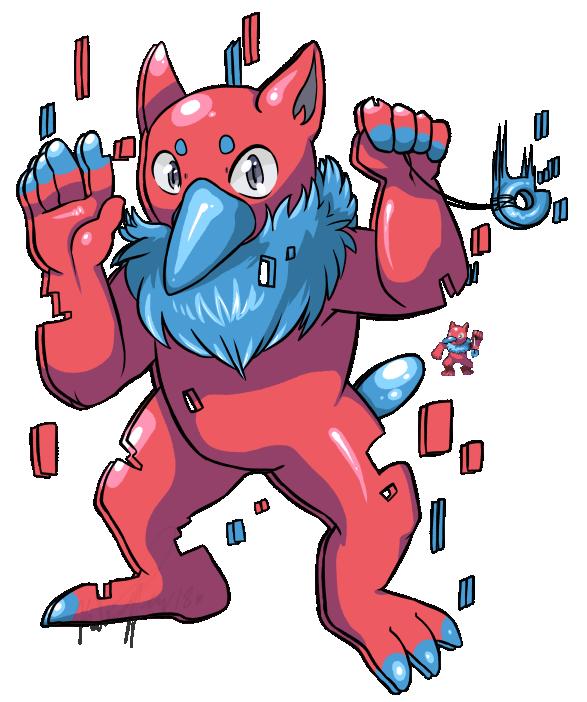 Pokemon Fusion: Poryno