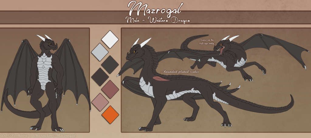 [Gift] Reference sheet 2.0 (reworked)