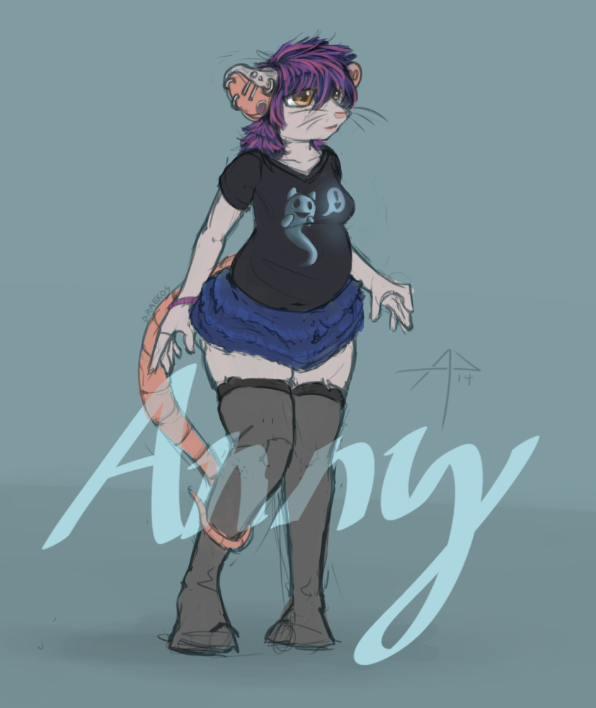 An Anny Mouse.