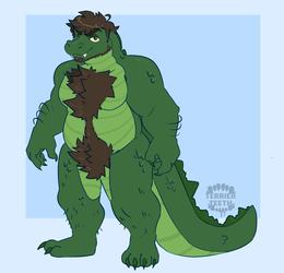 Jer the gator - Art by Terrierteeth