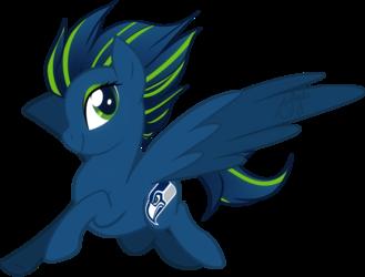 Seahawks Pony
