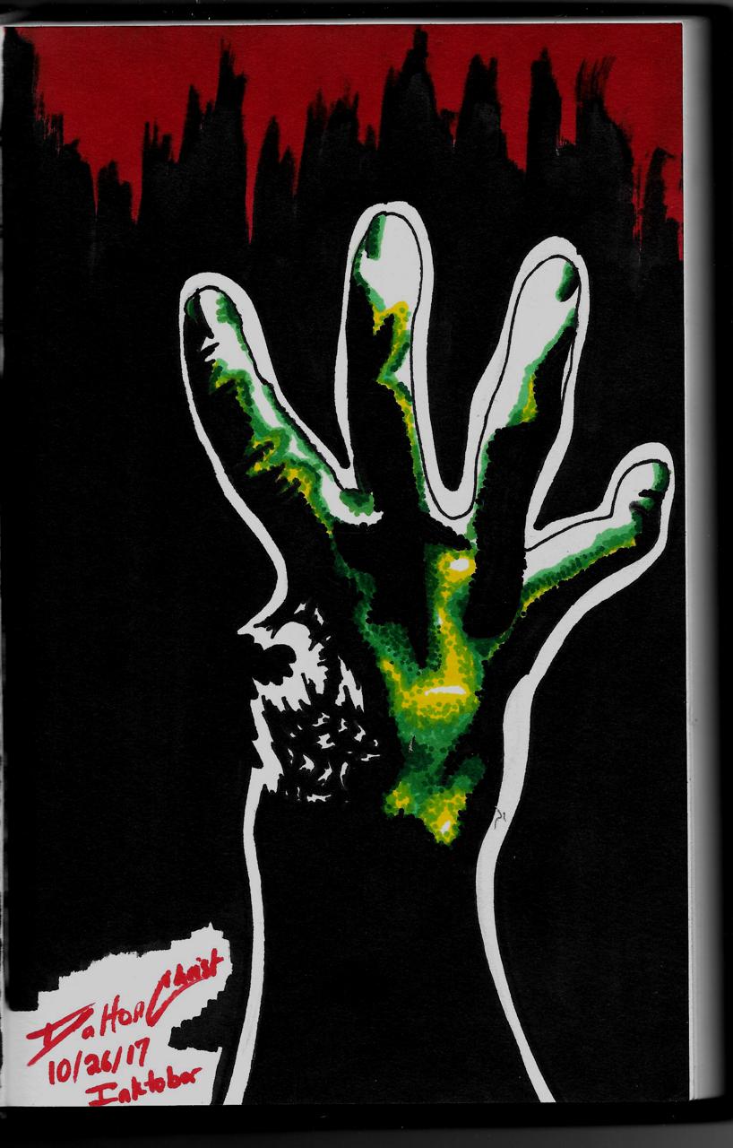 Left 4 Dead (Inktober 2017, Piece 26)