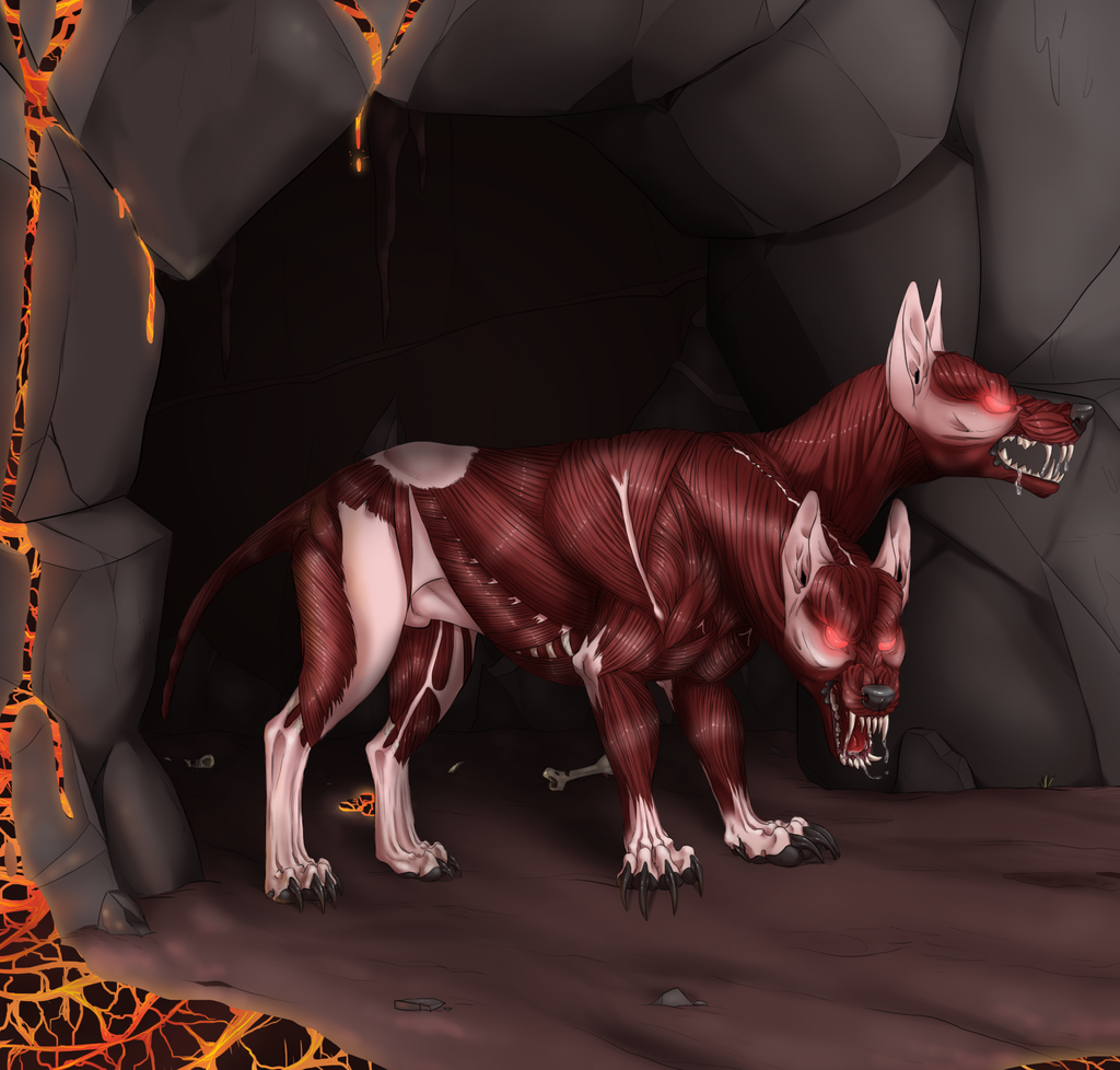 Most recent image: Skinless two headed wolf