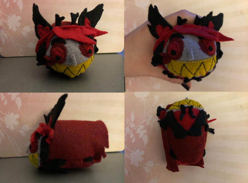 Hazbin Hotel Alastor Stacking Tsum Plush For Sale