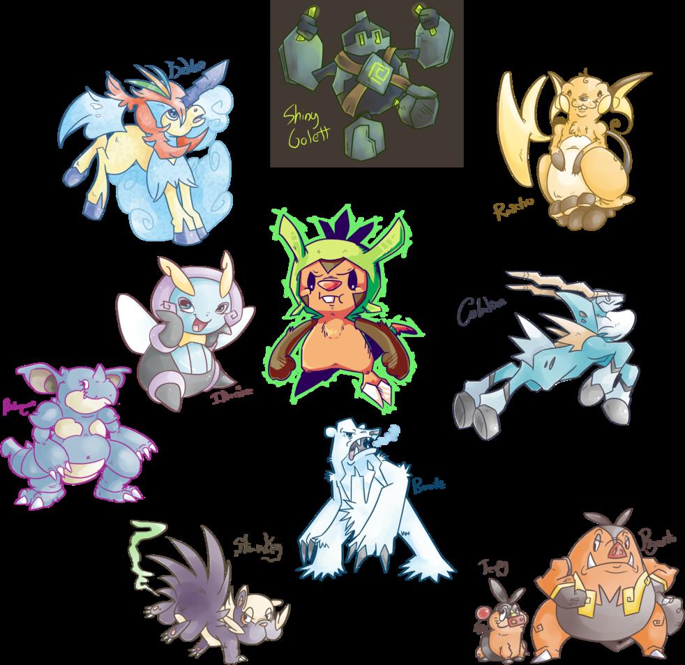 Pokemon doodle dump