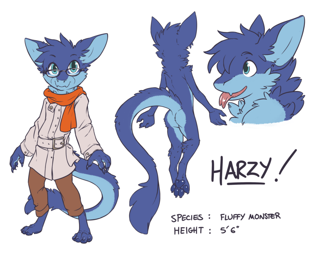 Harzy (clothed)
