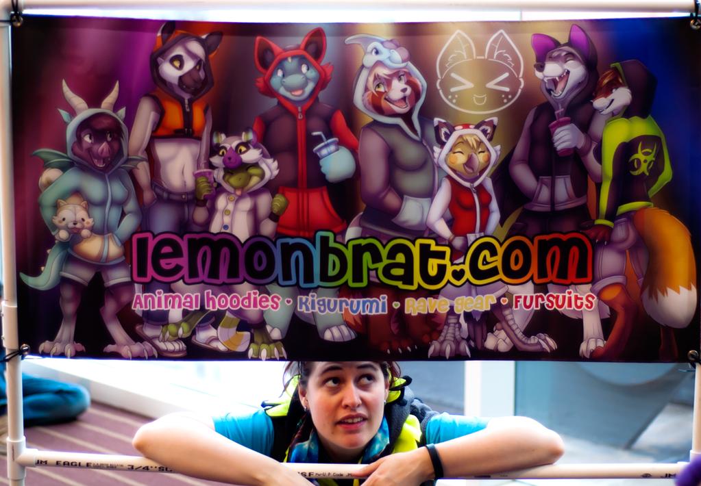 Lemonbrat Photoshoot @ Anthrocon 2015!