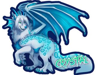 Badge- CrystalRyuu