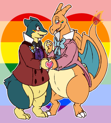 Commission - Poke Pride Day