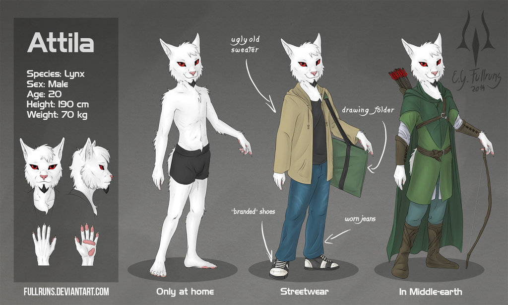 Attila character reference