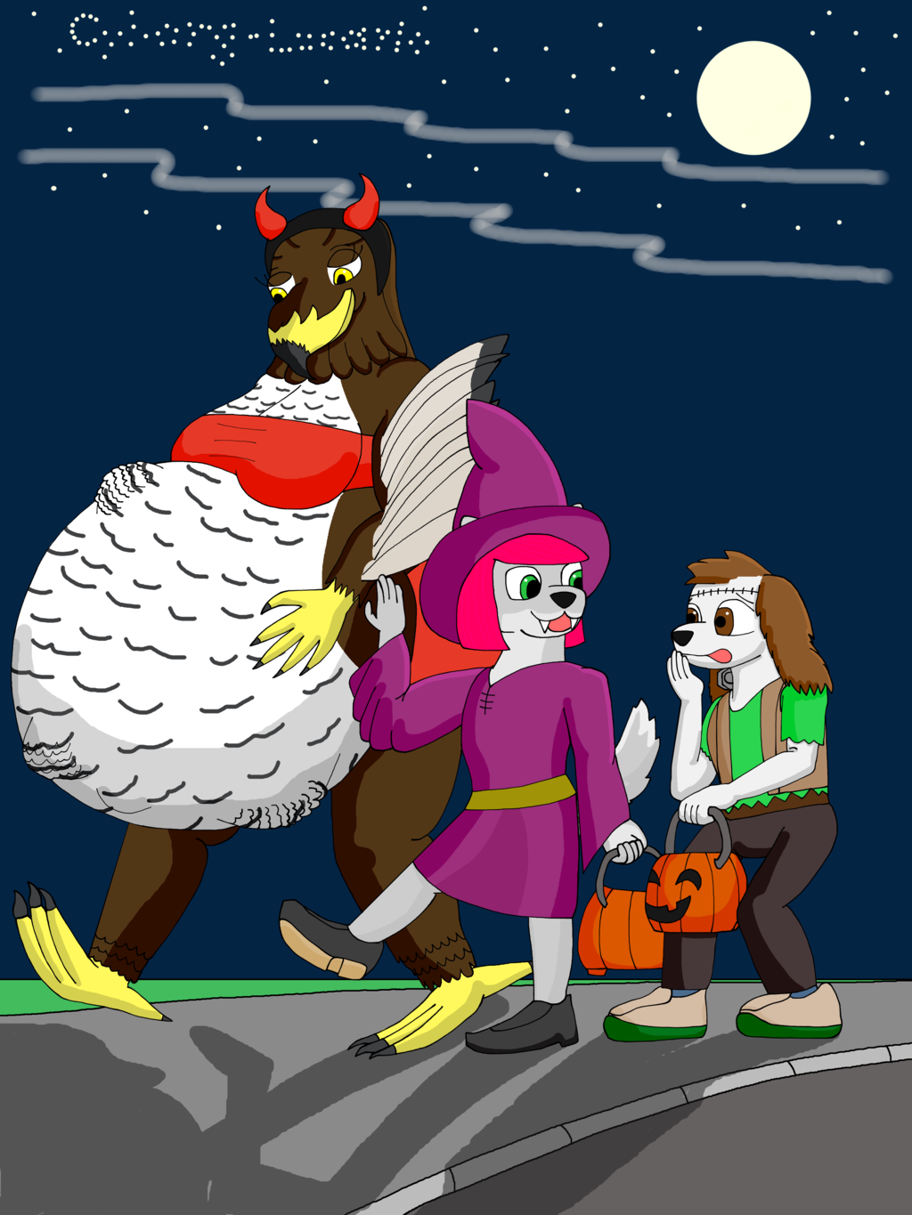 Be safe trick or treating