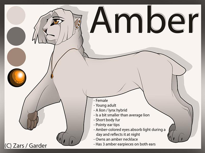 2013 Amber Reference Sheet