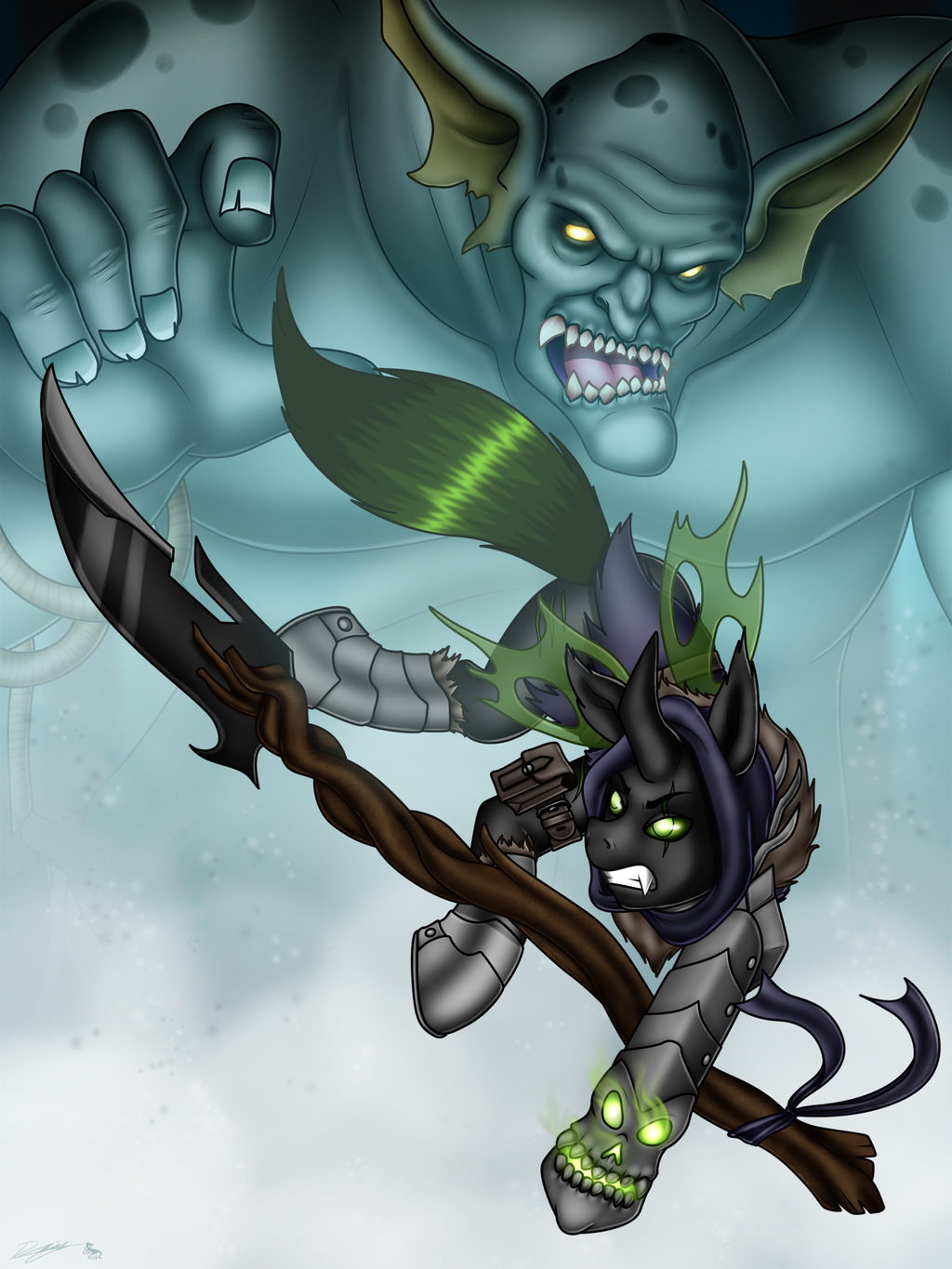 Most recent image: Cryxus the Brave
