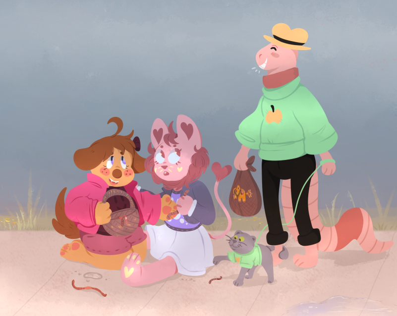 Worms Day Out