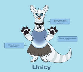 Fletcher Outfit Reference - Unity