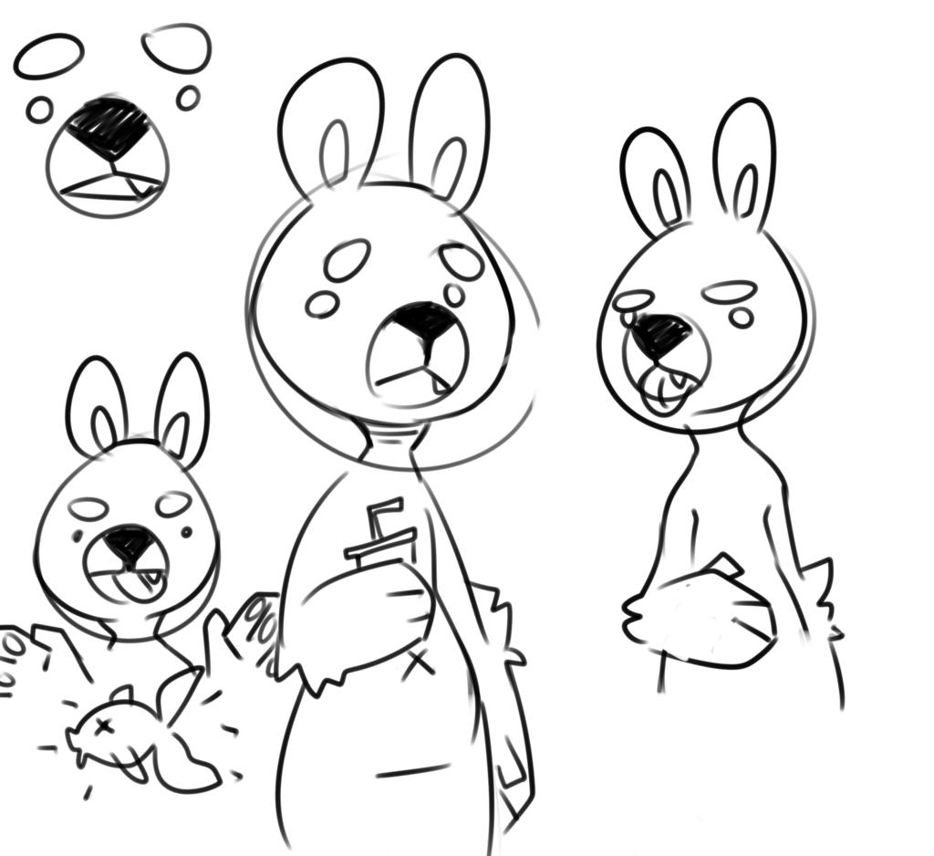 Buster sketch 1