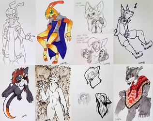 MFF Sketch Pages