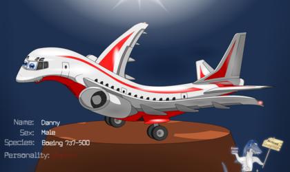 The Jam Shark - Danny The 737-500 (Archive)