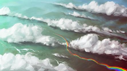 RainbowDash: Chase the Sun