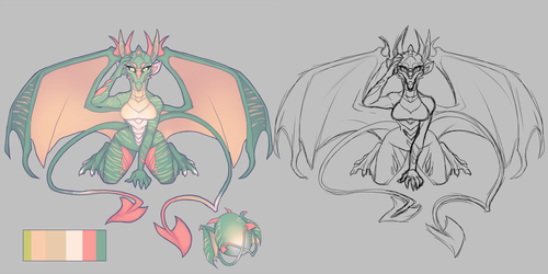 -COLLAB- 2 Tailed Dragoness