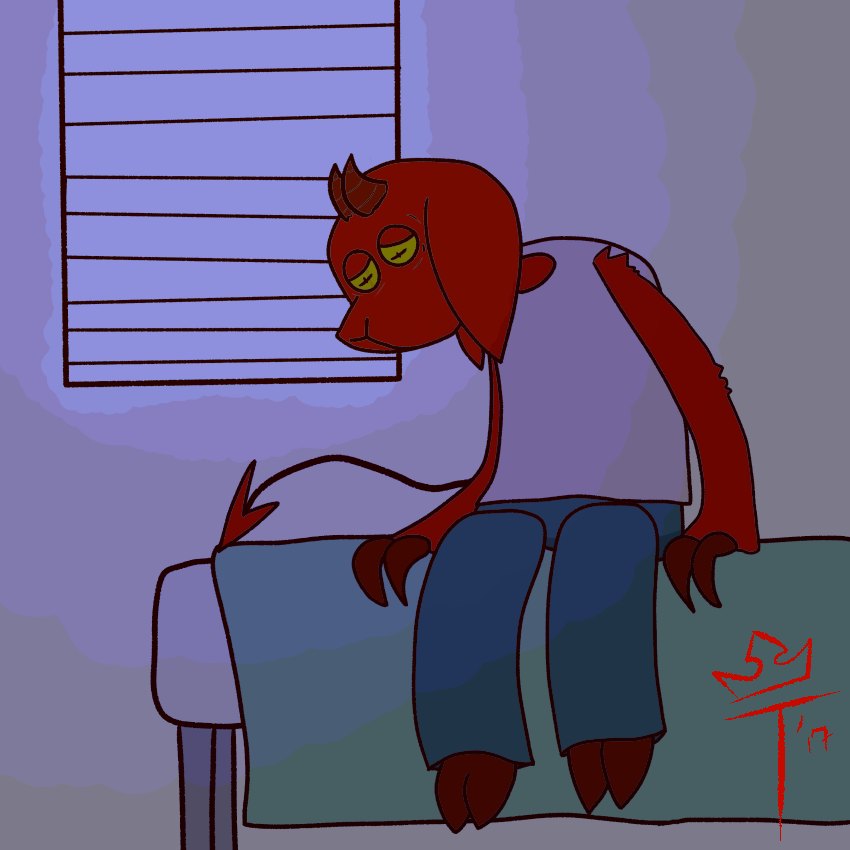Most recent image: bed time