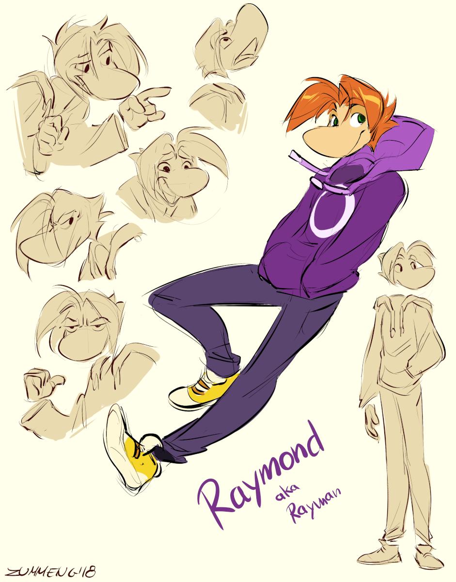 Raymund - Rayman Fanart